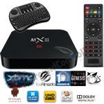 MXIII Android TV Box Premium Combo