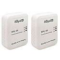 RoyalPlus 85Mbps Wireless Powerline Pair