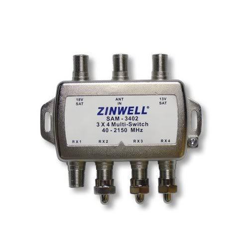 Zinwell 3x4 Multi-Switch